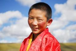Tibet boy